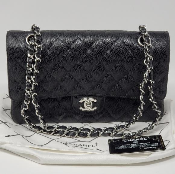 2274d36bf9667f CHANEL Bags | Brand New Medium Classic Double Flap Caviar | Poshmark